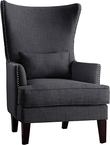 Homelegance Avina Fabric Wingback Chair