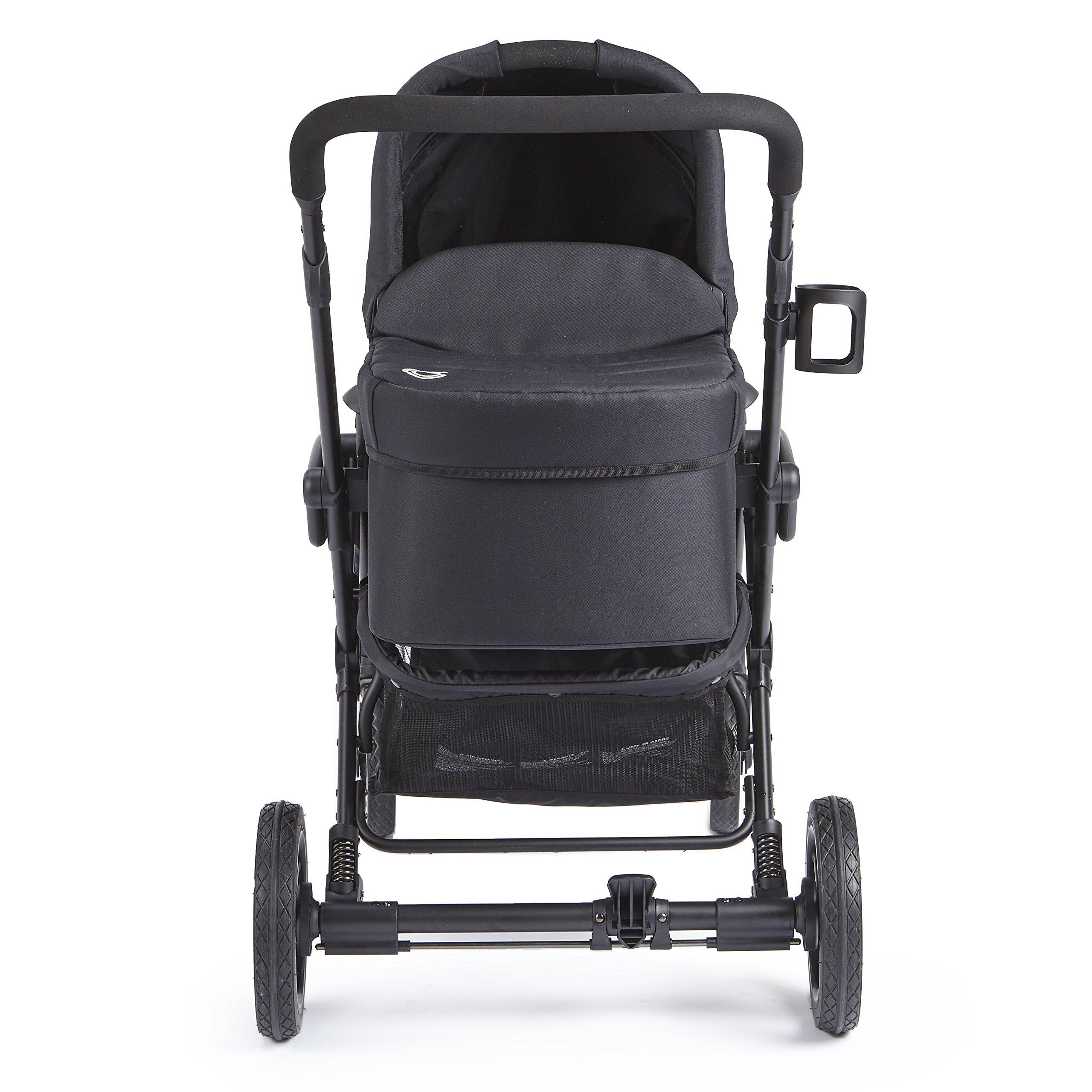 Contours Bassinet Accessory for Contours Options, Contours Options Elite, Contours Curve Tandem Double Strollers, Black by Contours (Image #5)