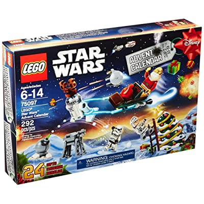 LEGO Star Wars 75097 Advent Calendar Building Kit (Discontinued by manufacturer): Toys & Games