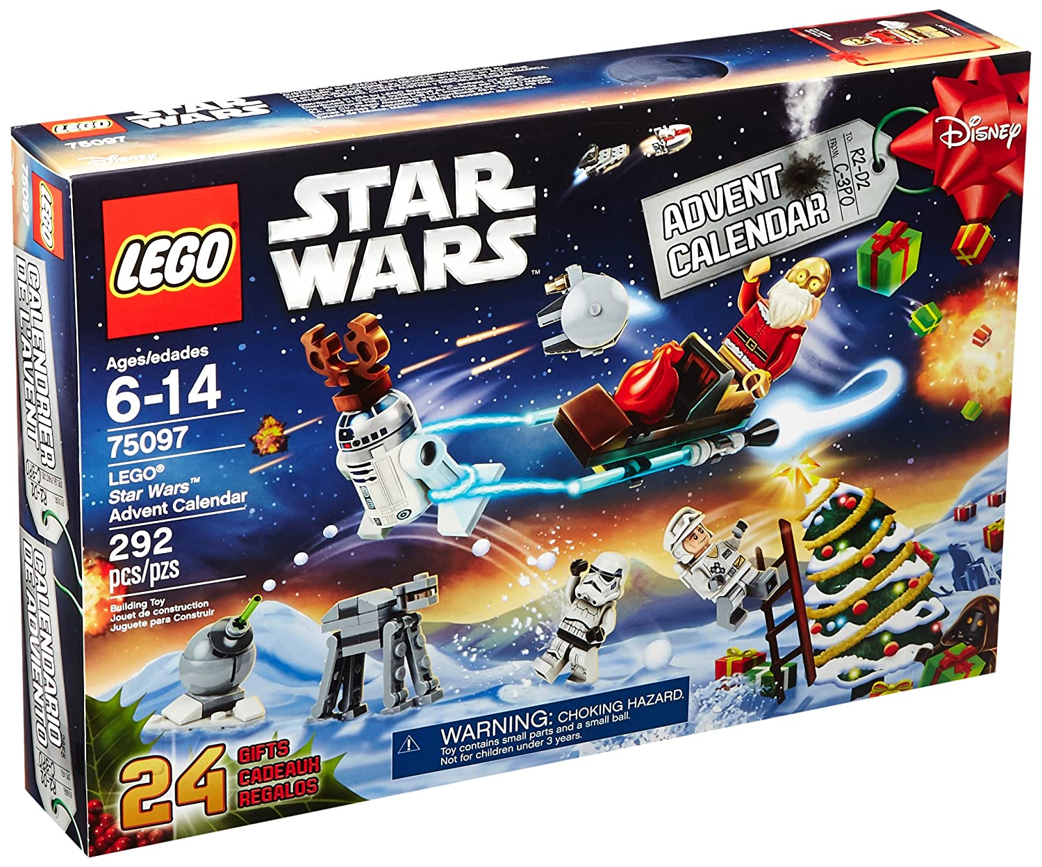 Calendrier Avent Lego Star Wars 2019.Lego Star Wars 75097 Advent Calendar Building Kit Discontinued By Manufacturer