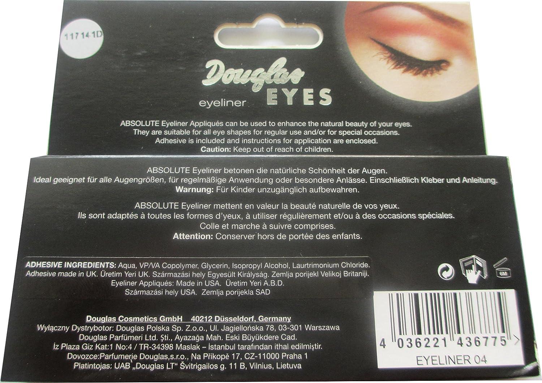 Douglas Eyeliner Eyes Schwarzer Eyeliner Zum Aufkleben