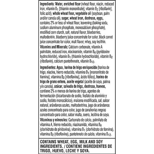 Eggo, Blueberry Nutri-Grain Waffles, 12.3oz (Frozen): Amazon.com: Grocery & Gourmet Food