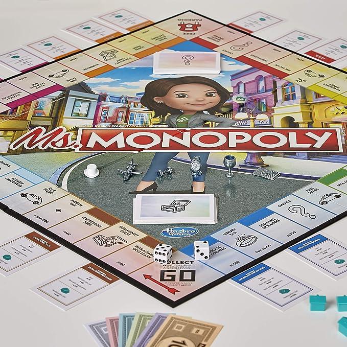 Hasbro Monopoly- Juego Ms Monopoly, Multicolor, E8424103: Amazon.es: Juguetes y juegos