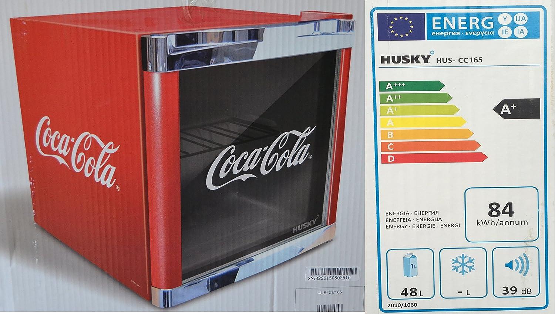 Husky HUS-CC 165 Coolcube Flaschenkühlschrank Coca-Cola / A+ / 51 cm ...