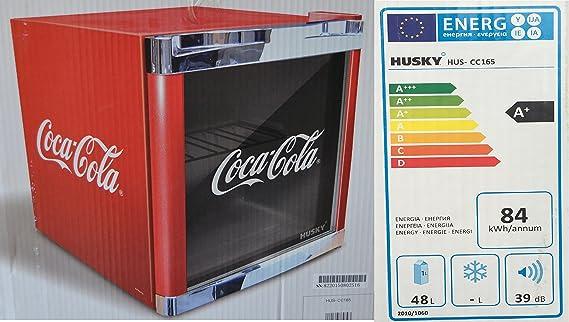 Kleiner Kühlschrank Coca Cola : Husky hus cc coolcube flaschenkühlschrank coca cola a