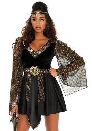 ee15d7f44b4 Amazon.com  Leg Avenue Women s Plus Size Glamazon Amazon Warrior ...