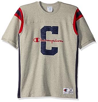 Amazon.com  Champion LIFE Men s Heavyweight Football Tee  Clothing 0c52f6a29