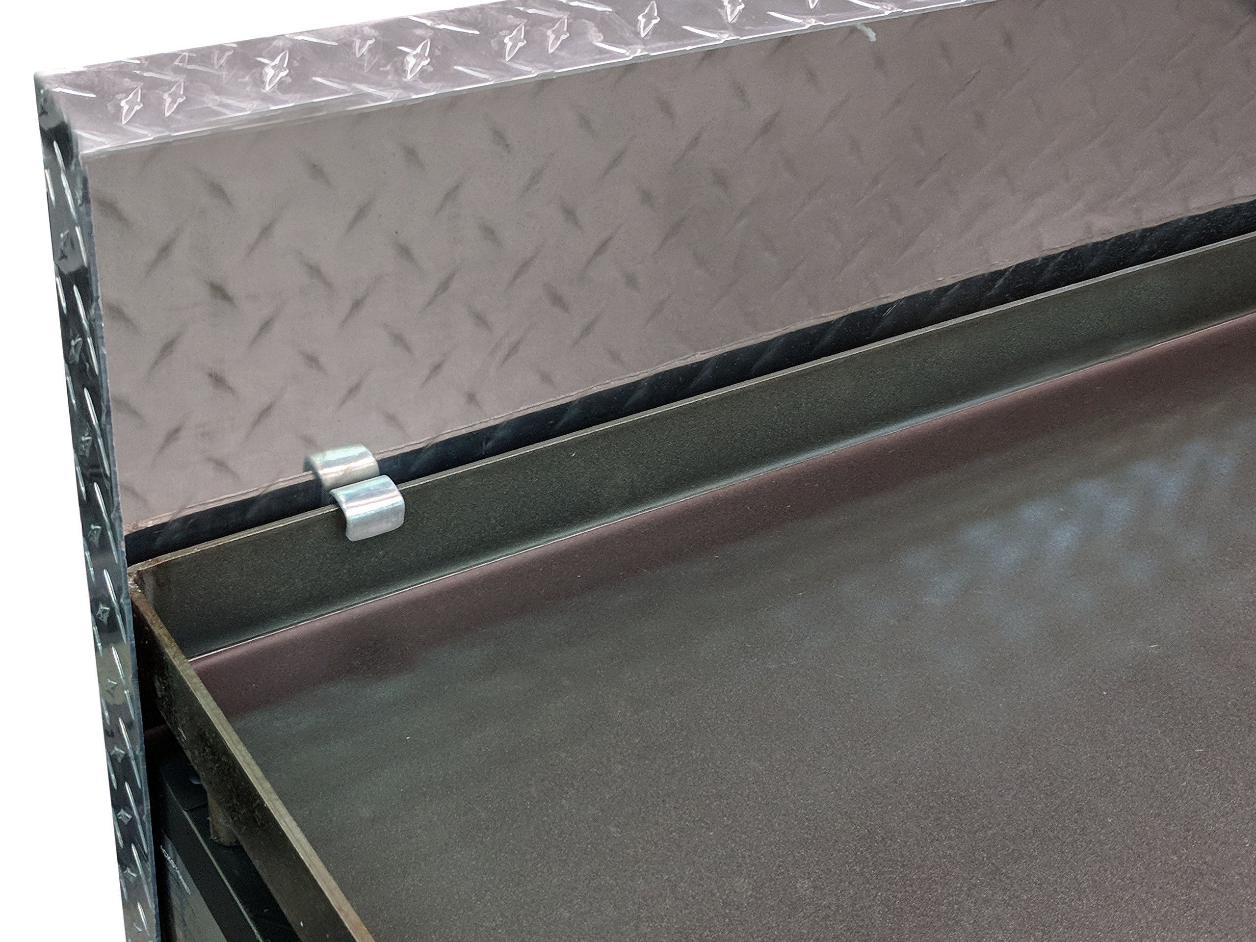Titan Diamond Plated Aluminum Grill Cover Fits 36'' Blackstone Griddle by Titan Great Outdoors (Image #3)