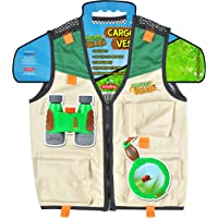 Nature Bound Chaleco de Carga para niños con Cierre, 4 Bolsillos y Costuras duraderas