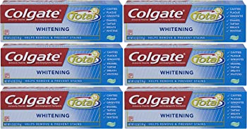 6-Pack ColgateTotal Whitening 4.2oz Gel Toothpaste