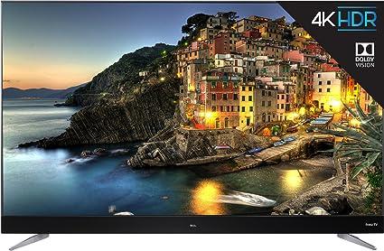 Amazoncom Tcl 55c807 55 Inch 4k Ultra Hd Roku Smart Led Tv 2017