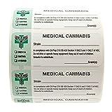 California Medical Cannabis Strain Labels - State