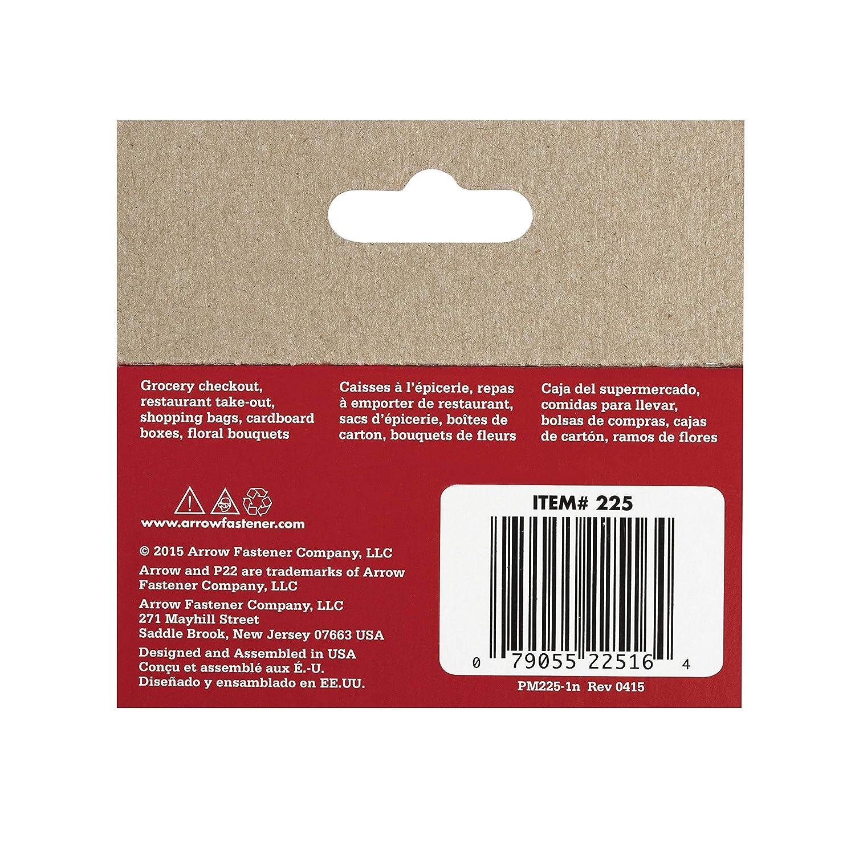 Arrow 160658/P22/ /Caja de 5000/grapas 6/mm