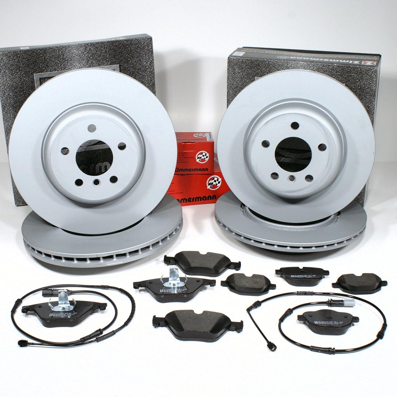 Handbremse Zubeh/ör f/ür hinten Bremsscheiben Bremsen Bremsbel/äge Warnkabel vorne hinten