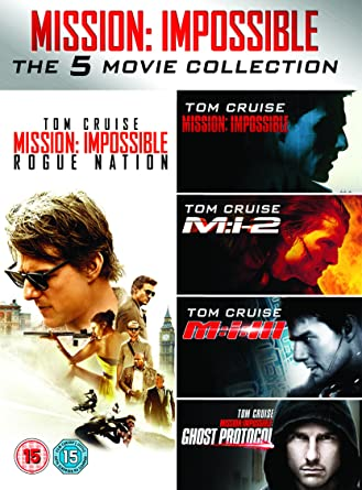 Mission Impossible 1-5 [DVD]: Amazon co uk: Tom Cruise, Jon
