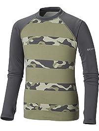 Columbia Big Boy's Sandy ShoresPrinted Ls Sunguard Shirt