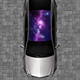 H122 GALAXY Hood Wrap Wraps Decal Sticker Tint Vinyl Image Graphic
