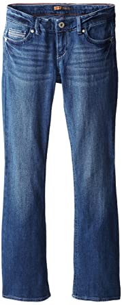 813e5d8beda Amazon.com: Levi's Girls' Becca Beaded Bootcut Jean: Clothing