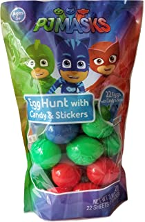 Pj Masks Easter Egg Hunt Eggs Filled with Candy and Stickers!