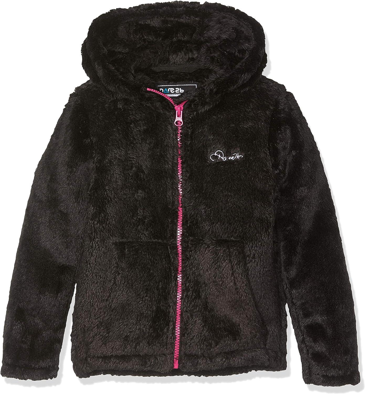 Dare 2b Unisex Kids Preface Full-zip Hooded Fleece Knitwear