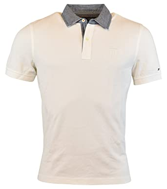 7d0b1a5ee09 Tommy Hilfiger Mens Custom Fit Pique Cotton Polo Shirt at Amazon Men s  Clothing store