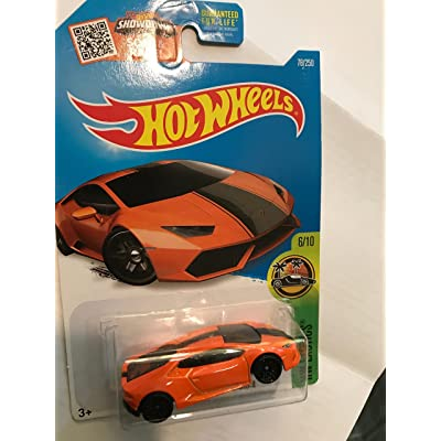 Hot Wheels 2016 HW Exotics Lamborghini Huracan LP610-4 76/250, Orange: Toys & Games
