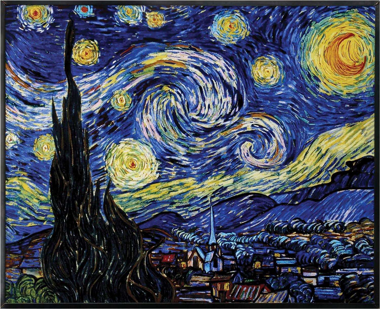Amazon.com: YTC Van Gogh Starry Night Painting: Oil Paintings: Paintings