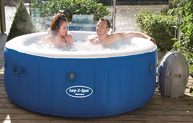 Bestway Lay- Z Havana Spa Hinchable para 2-4 Personas: Amazon.es ...