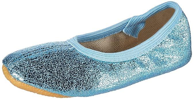 Beck Basic, Zapatillas de Gimnasia para Niñas, Azul (Hellblau 04), 27 EU