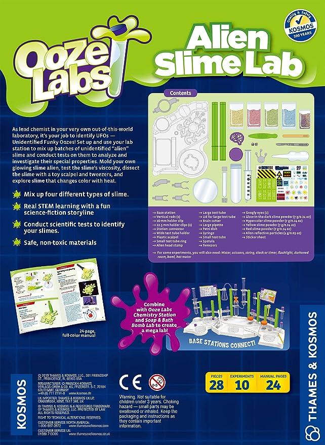 Alien Slime Lab Ooze Lab Station STEM Science Experiment Kit 642106