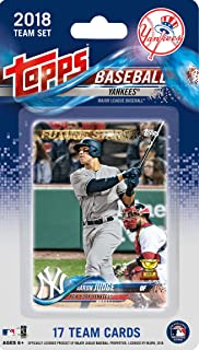 7ba1133b New York Yankees 2018 Topps Factory Sealed 17 Card Limited Edition Team Set  with Aaron Judge