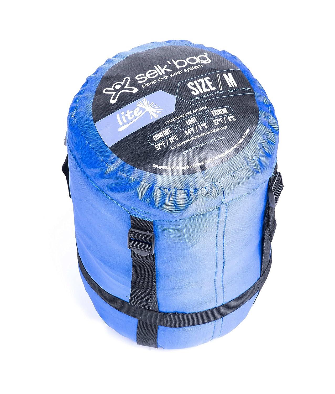 SelkBag Adulto Lite 5 G portátil Saco de Dormir: Amazon.es: Deportes y aire libre