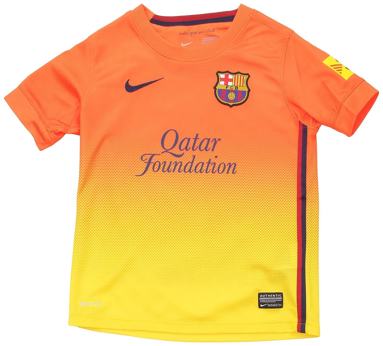 94be40eee2c Nike FC Barcelona Away Shirt 2012 13 Children s Size  Amazon.co.uk  Sports    Outdoors