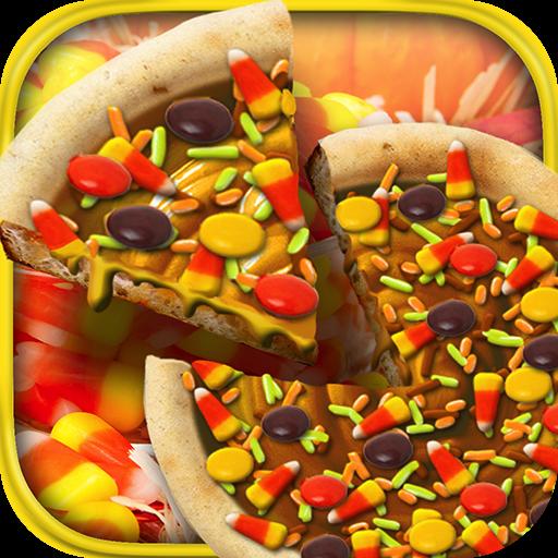 Thanksgiving Candy Pizza Maker Baker - Kids Autumn Dessert Restaurant Cooking Game ()