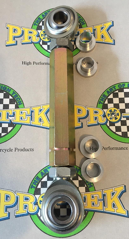 Pro-Tek LL-250S Adjustable Lowering Links 2006-2014 Triumph Daytona 675 2011-2014 Triumph Daytona 675R 2007-2014 Triumph Street Triple 675 and 2008-2014 Triumph Street Triple R