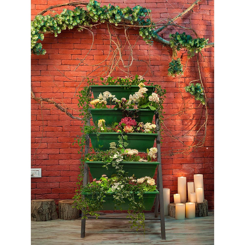 Vertical Herb Garden Planter Box Outdoor Elevated Raised