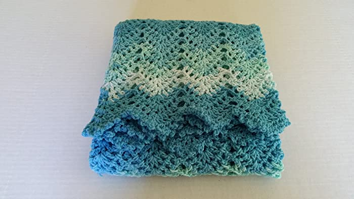 Amazon Baby Blanket Crochet Crochet Afghan Ripple Infant