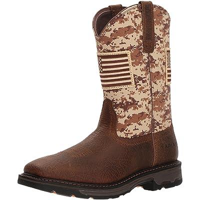 ARIAT Men's Workhog Patriot Work Boot Construction   Industrial & Construction Boots