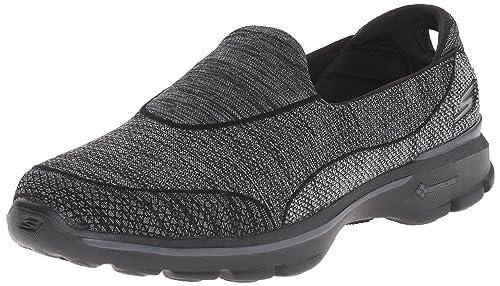 Skechers Go Walk 3 Super Sock 3, Chaussures de Tennis Femme