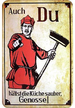 T-Shirt: Auch du hältst die Küche sauber Genosse