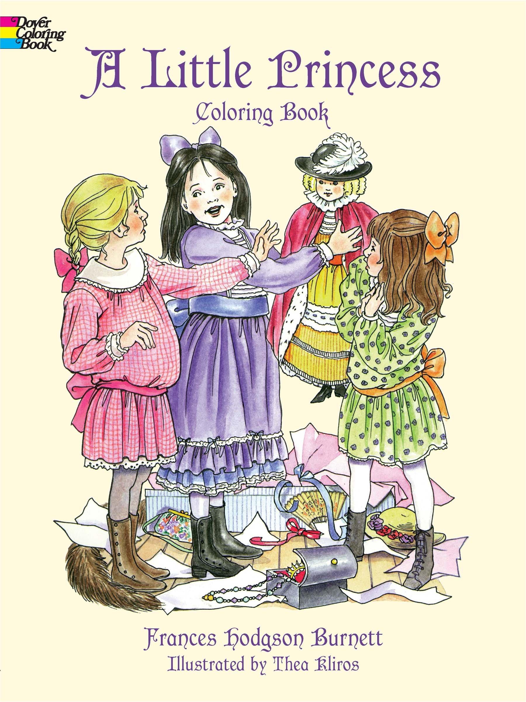 A Little Princess Coloring Book (Dover Coloring Books) ebook