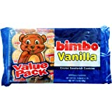 Bimbo Cookies Vanilla Creme Sandwich Flavor 2 Trays of 10 Pack of 6 Cookies Each