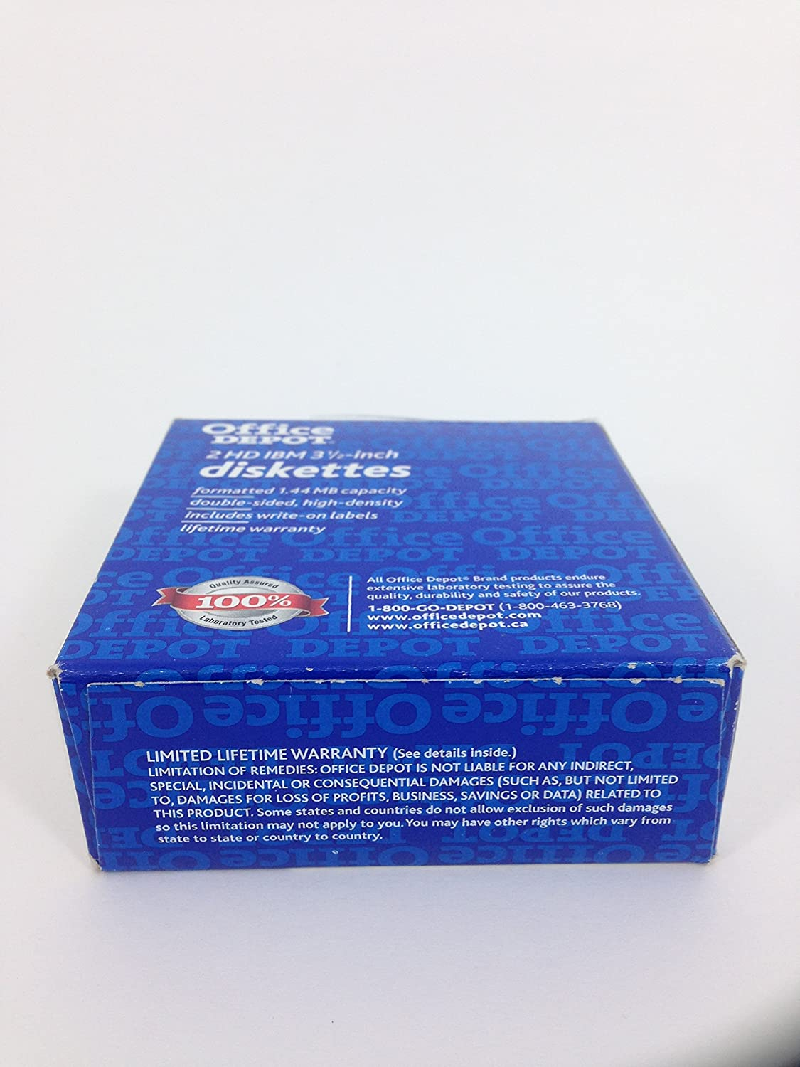 Office depot services register new product - Amazon Com Office Depot 2 Hd Ibm 3 1 2 Inch Diskettes Box Of 10 Home Audio Theater