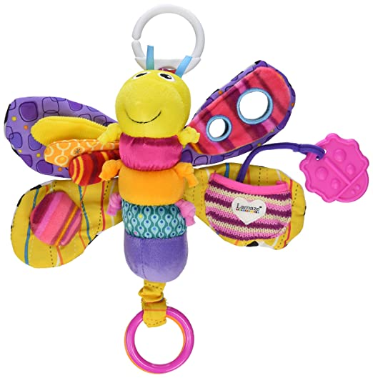 Lamaze Clip and Go Firefly Fifi Teether