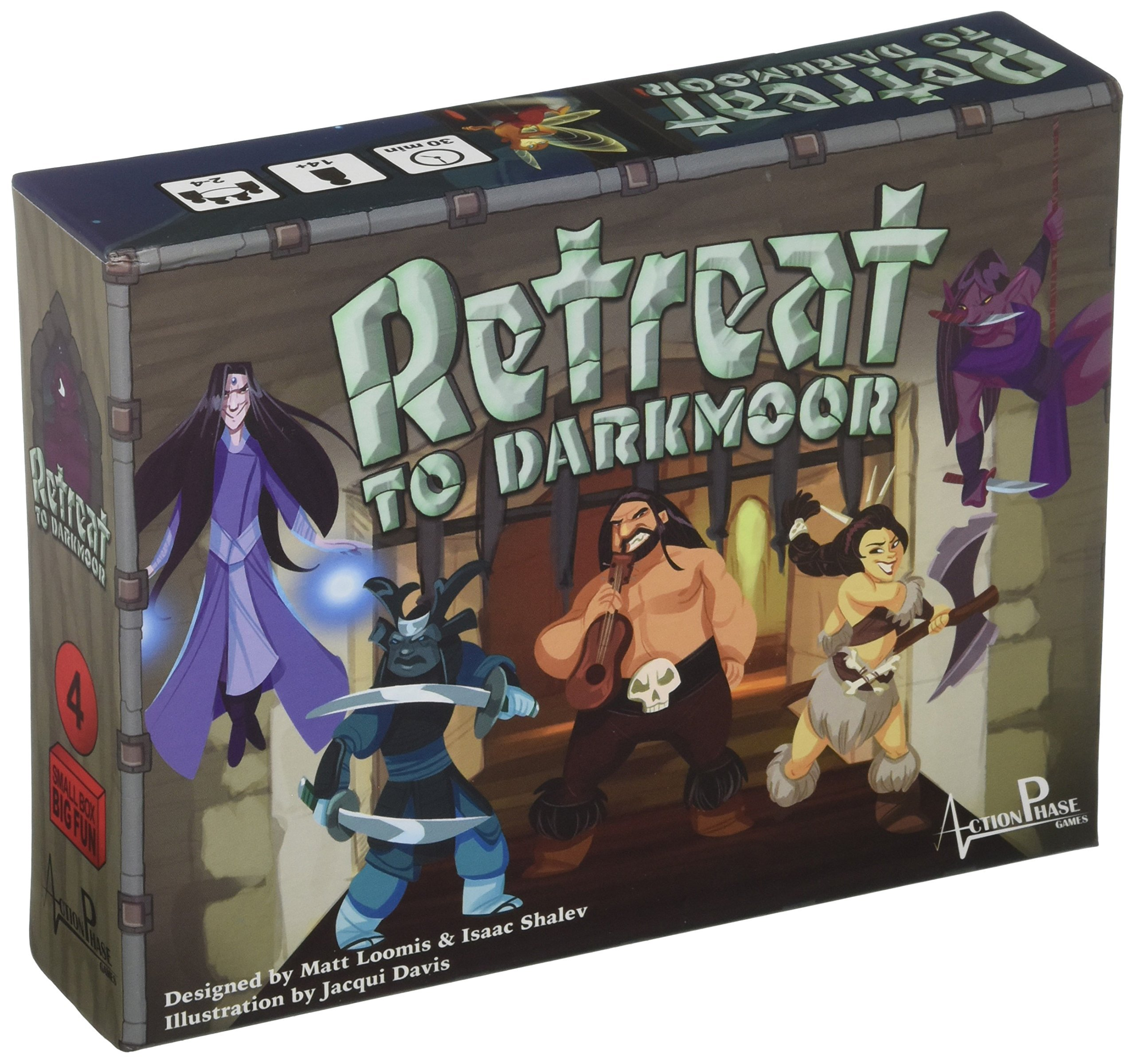 Action Phase Games Retreat to Darkmoor Board Game