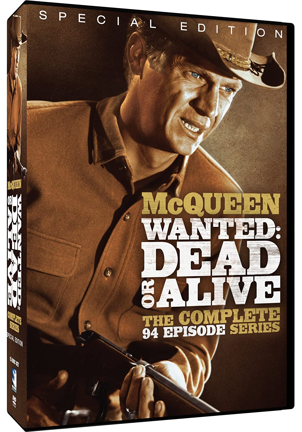 Wanted: Dead or Alive: The Complete Series (Special Edition) Steve McQueen Michael Landon James Corburn DeForest Kelly