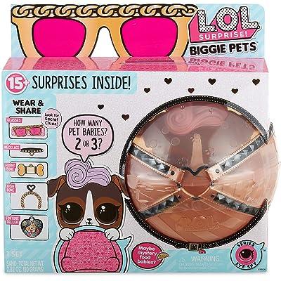 L.O.L. Surprise! Biggie Pet- D.J. K9: Toys & Games