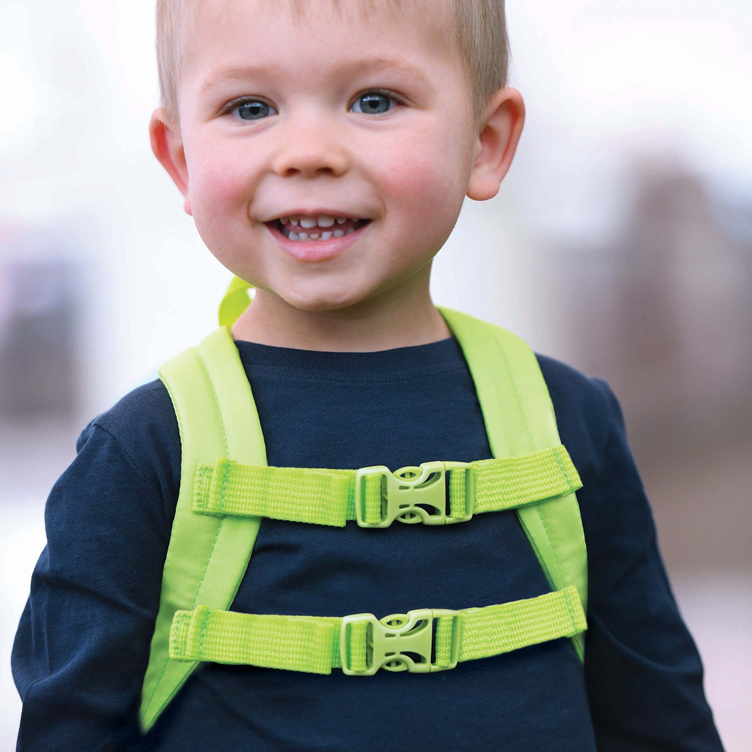 Travel Bug Toddler Safety Dinosaur Backpack Harness with Removable Tether, Teal/Grey by Travel Bug (Image #4)