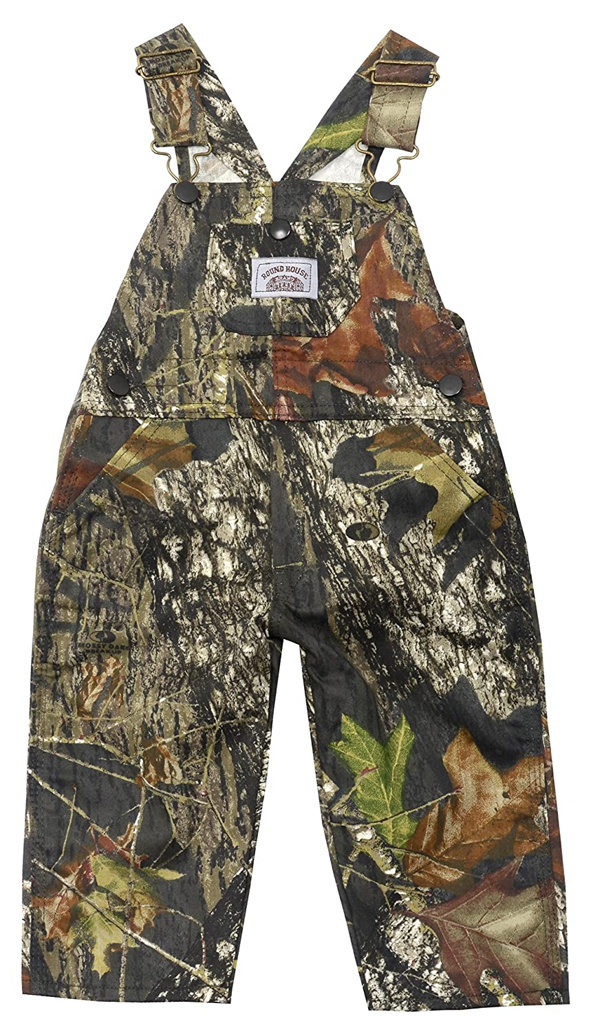 Round House Little Boys Mossy Camo Bib Overalls