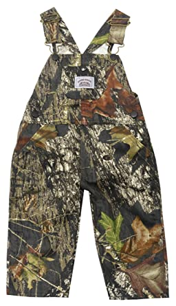 3fefc376a5715 Amazon.com: Round House Little Boys Mossy Camo Bib Overalls (MULTI ...